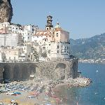view of Atrani from verandah