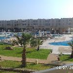 struttura giardino piscina