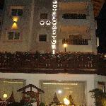 albergo di sera