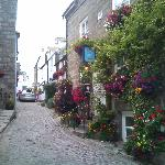 The side streets of St ives