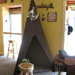 Cabin Coffee Co.: kids' teepee