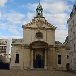 la cappella all'entrata