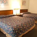 Double queen size beds