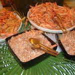 Table de crevettes
