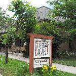Main entrance to the Inn