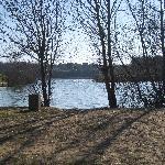 Lac de Trizay, petit coin idyllique pour le farniente.