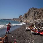 Eros Beach Santorini Grecia