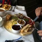 Yorkshire! ploughmans lunch.