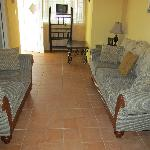 Villa living room area