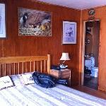 The duck hunting room