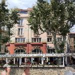 Cet hotel est vraiment un des mieux situés à Collioure