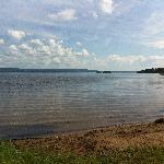 Orsasjön runt på cykel, fantastisk tur, kolla dock rutten innan, hottellet hade ingen koll