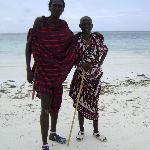 Zizou le plus grand des Masaï roi du jump et de l'amitié