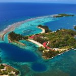 Fantasy Island Beach Resort, Dive & Marina aereal photo