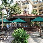 poolside restaurant