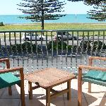 The lookout from our seaview rooms