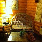 Woven wood furniture