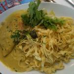 émincé de volaille au curry, plat du jour 10/08/2011