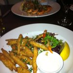 Whitebait and King Prawns - delicious!