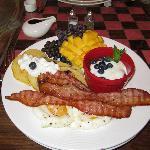 Wonderful breakfast...