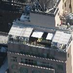 terraza del hotel desde el Empire State