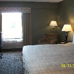 Newer, interior room.