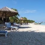 spiaggia davanti al Paradise