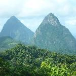 Pitons, why we went to St. Lucia