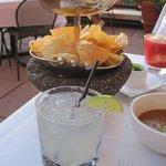 Homemade Guacamole & a divine Margarita :)