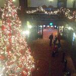 Christmas at the Del...just beautiful.