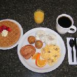 Included Hot Breakfast at Best Western Winners Circle Inn of Hot Springs Arknasas