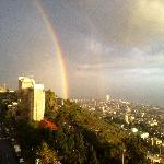 Double rainbow over Haifa