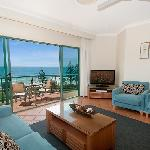 Lounge showing beautiful ocean views
