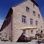 Außenansicht Kloster Hornbach