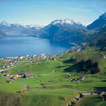 The idyllic village of Beckenried, your ideal base for a perfect holiday in Central Switzerland. (33071157)