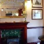 The hotel's pub
