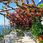 Breakfast patio