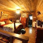 The Upstairs Loft/Master Bedroom