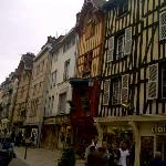 The main shopping street in Troyes