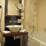 The bathroom of standard room