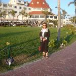 Boardwalk; me at Hotel Del