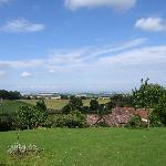 View to Bristol Channel from the garden