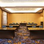 Our meeting room accommodates up to 45 people for both corporate and social events. Set up class