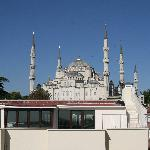 View of Blue Mosque from Terrace