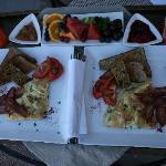 Breakfast, delicious!