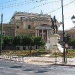 The Old Parliament Athens 1