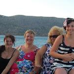 July Birthday boat(Margarita) trip to Spinalongha