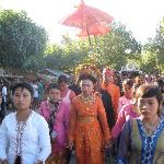 Sasak wedding procession