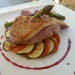 L'Allée des Vignes - Magret de canard sur tian de légumes