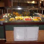Food line buffet style